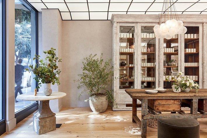 The True Botanicals flagship store. Photo courtesy of True Botanicals.