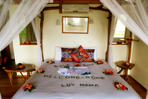 Turtle Island bedroom