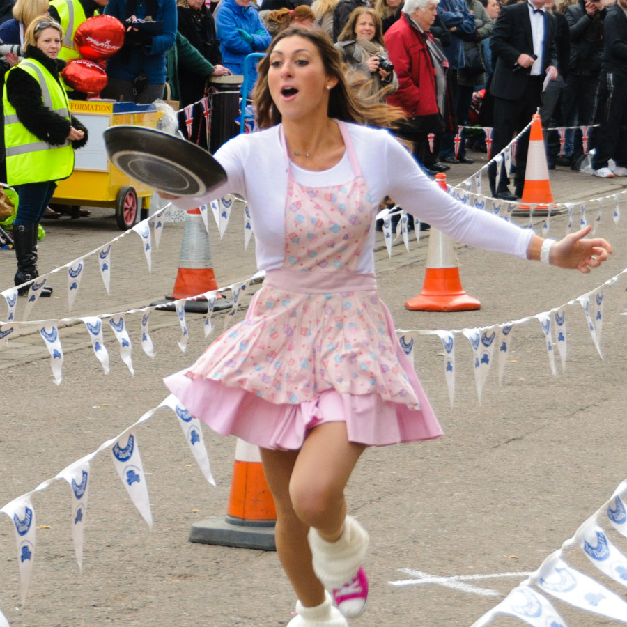 UK Pancake race