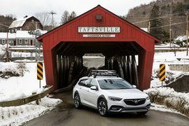 Covered bridge outside of Woodstock, Vermont