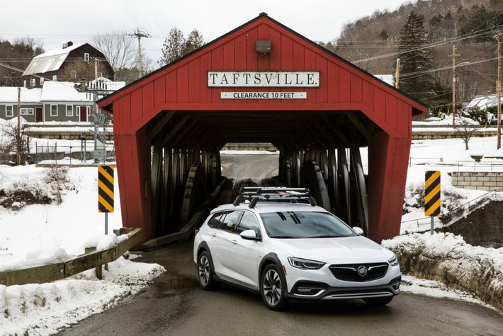 Covered bridge outside of Woodstock, Vermont