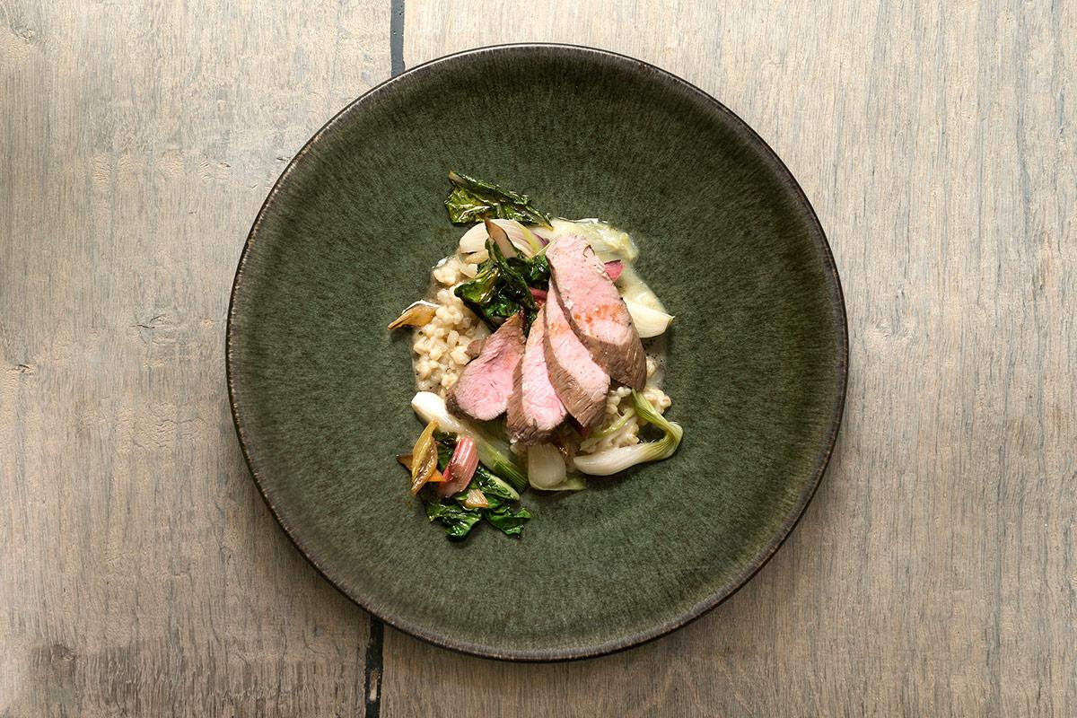 Lamb dish at Labstelle