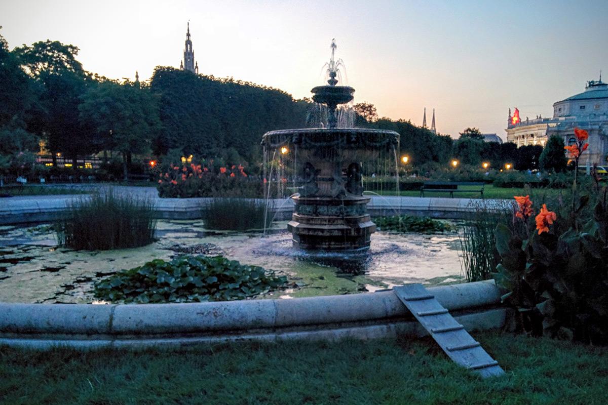 Volkgarten in Vienna