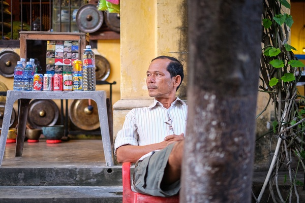 Drink Seller, Hoi An, Vietnam