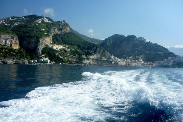 Amalfi Coast boat ride