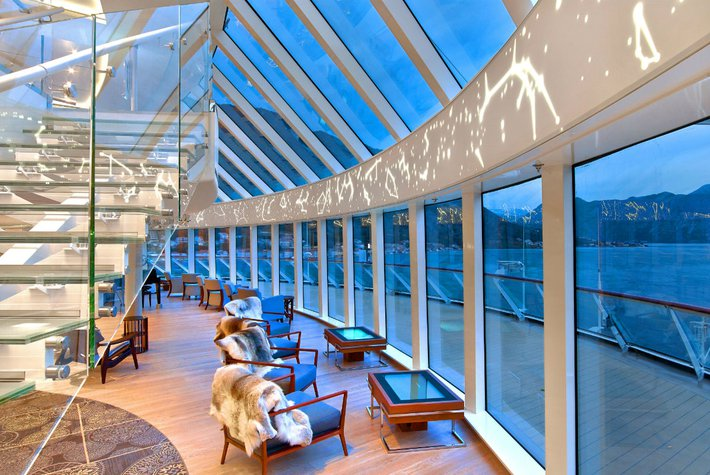 Lounge on Viking Cruise Ship, Viking Sky