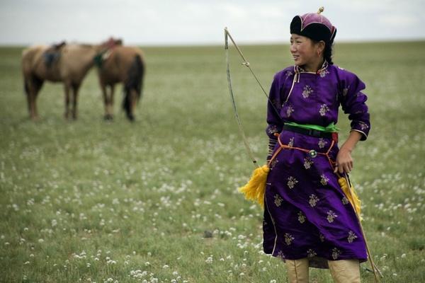 Mongolian Archer