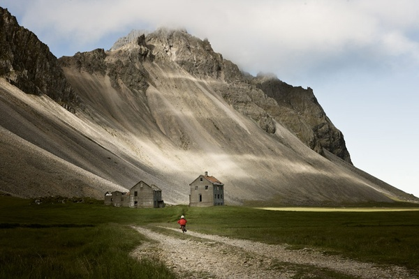 Abandoned farm in East Iceland
