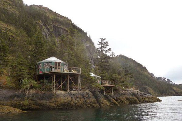Orca Islands Cabin Yurts
