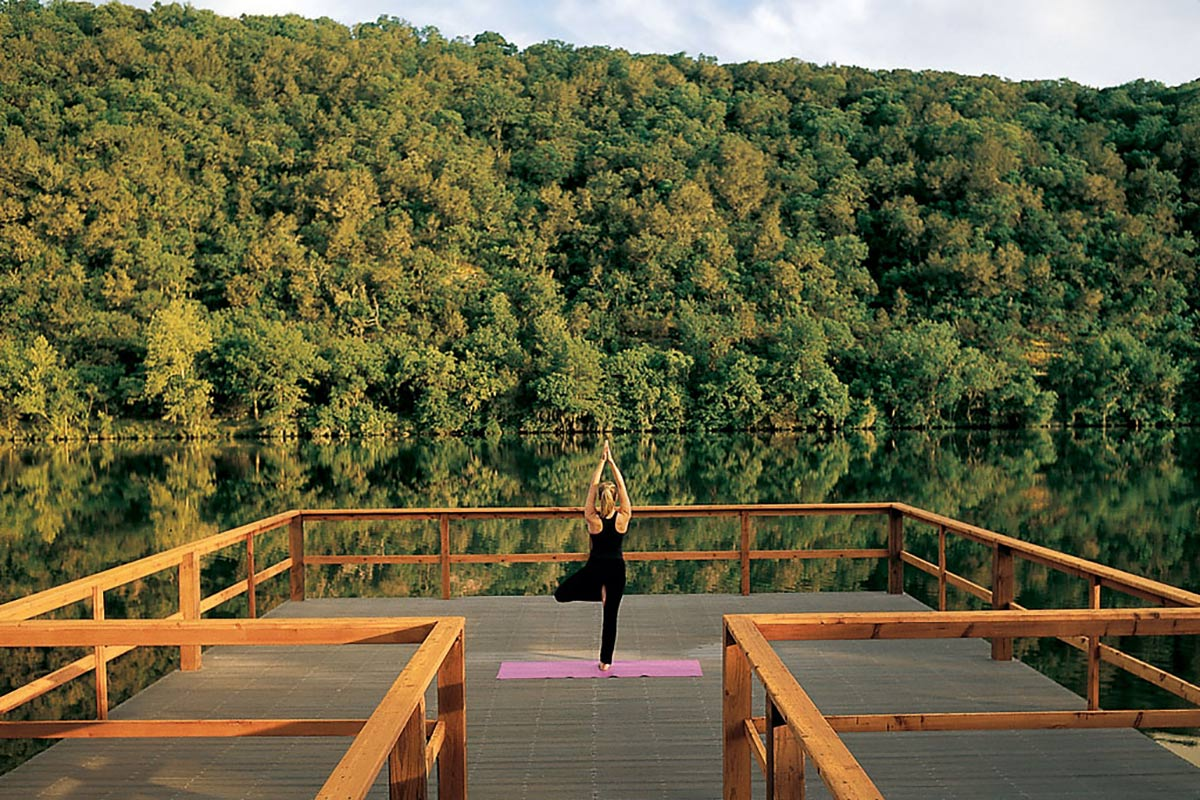 Yoga at Lake Austin Spa Resort