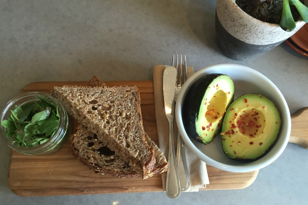 Avo Toast at The Shop, Providence