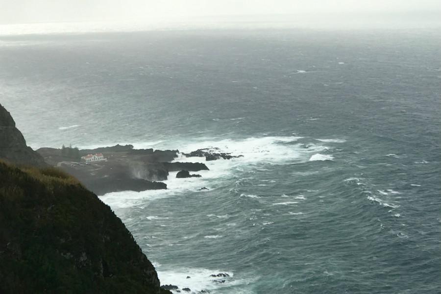 Azores Termas Cliff