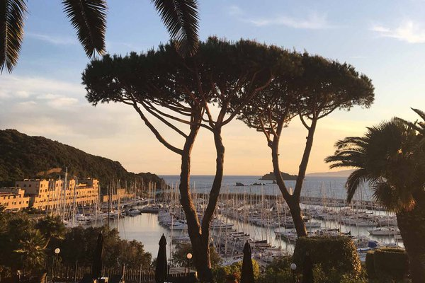 Punta Ala Tuscany harbor
