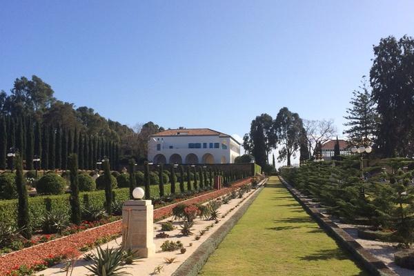 Bahai Garden temple