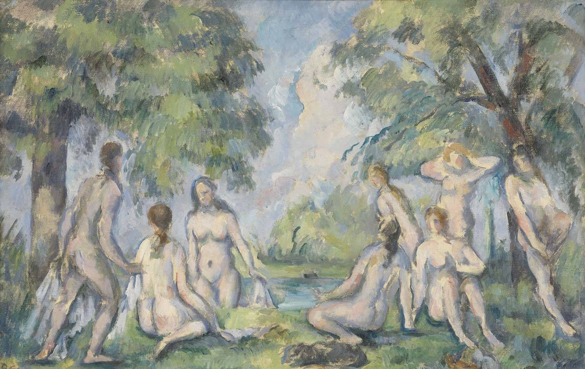 Bagneuses Cezanne