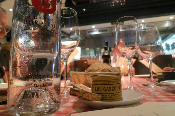 Pate in Brasserie Bordelaise in Bordeaux