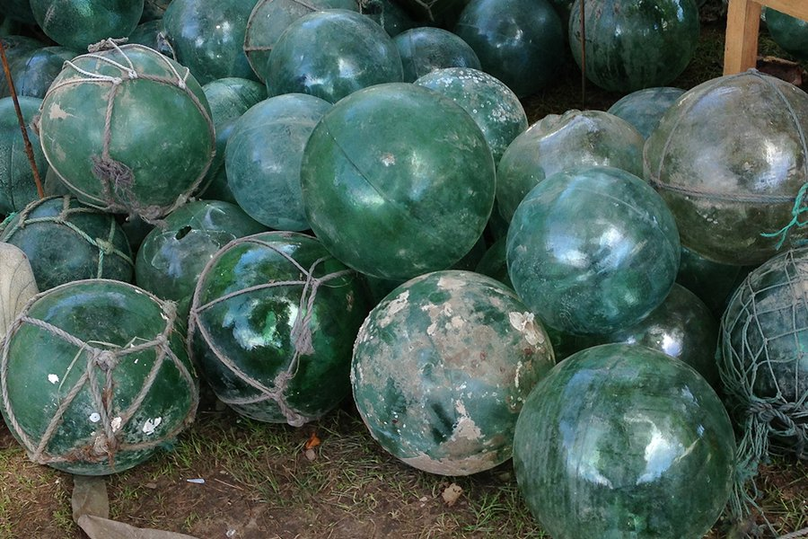 Vintage Glass Buoys