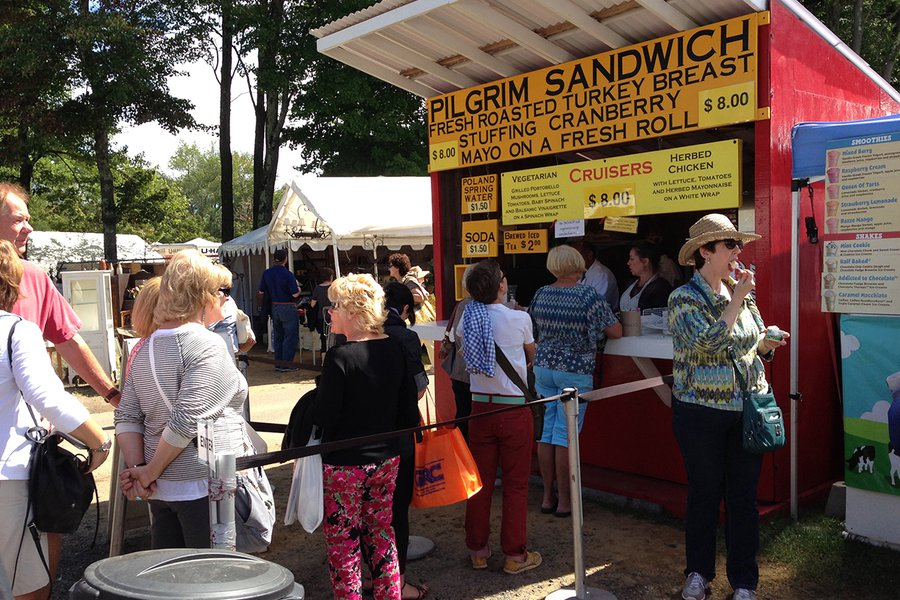 The Legendary Pilgrim Sandwich Stand