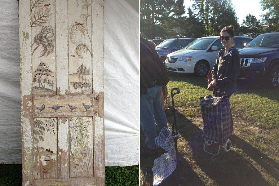 Me, My Granny Cart & the Door That Got Away