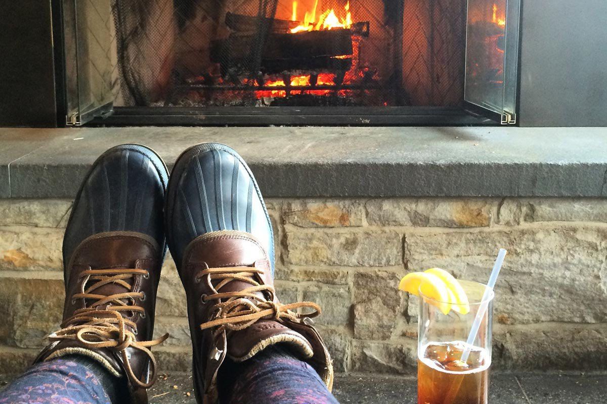 Put Your Feet Up And Get Cozy. All Photos By Tiffany J. Davis.