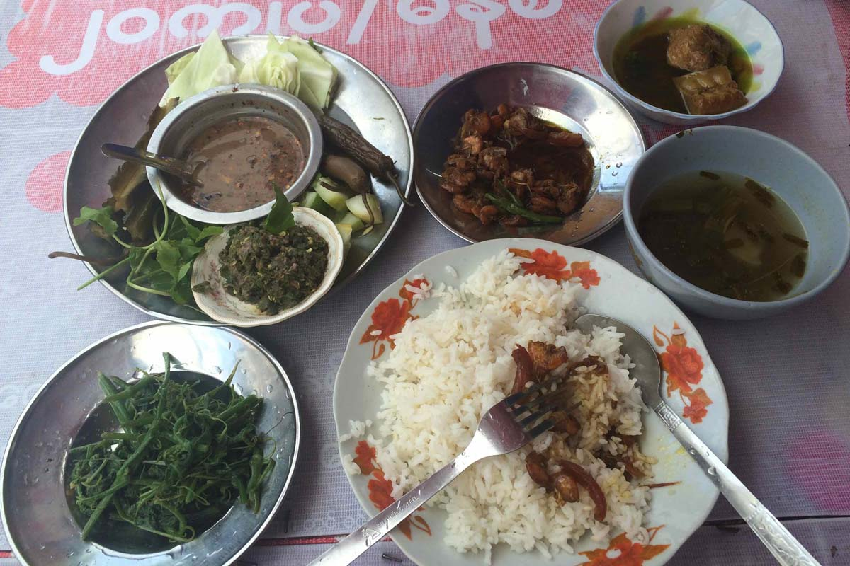 Lunch in Burma