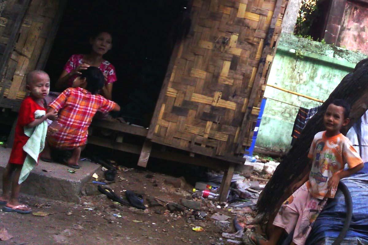 Shanty in Burma