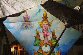 Painting in Burma