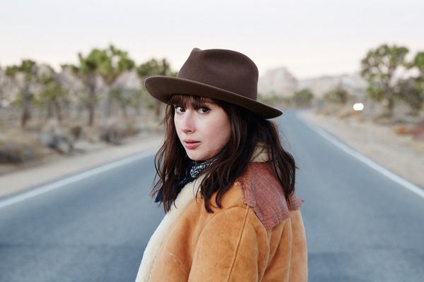 Nicole Franzen Girl in California Desert