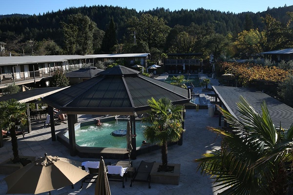 Calistoga Spa Hot Springs in Calistoga, California