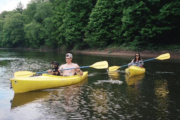 Kayaking on Lake George