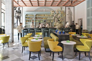 Cappuccino Grand Café at Hotel Mama in Palma, Mallorca