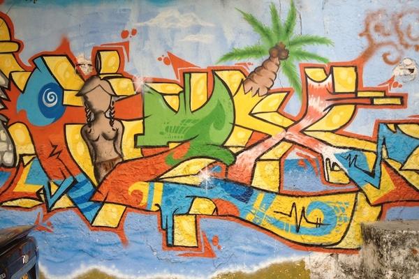 Cartagena Graffiti Yellow