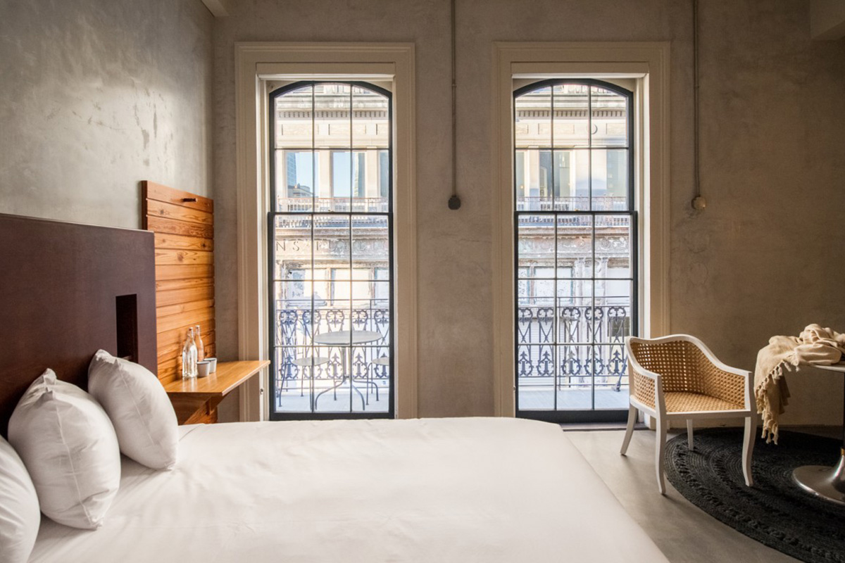 Travel in style 10 southern design hotels for 250 or for Design hotel new orleans