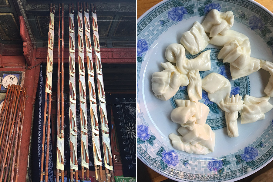 String Cheese, Yunnan, China