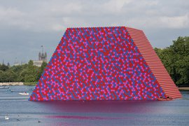 Christo The Mastaba, London Serpentine Gallery