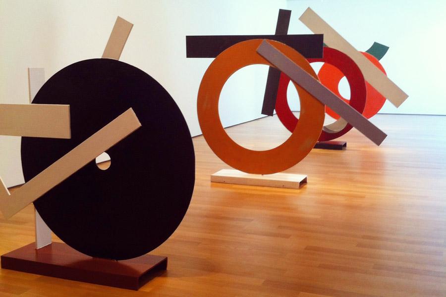 David Smith Raw Color circles