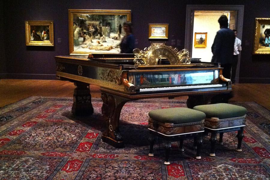 Clark Art Museum Piano