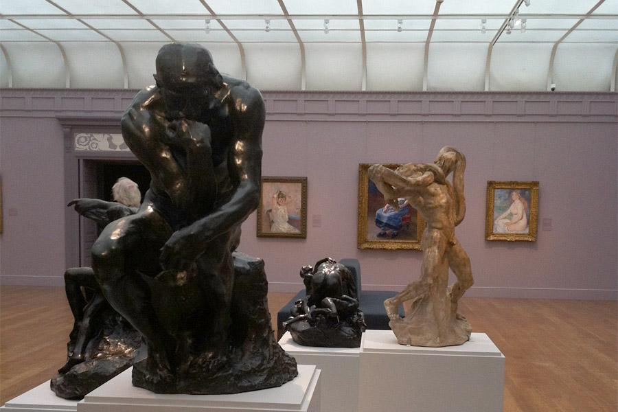 Clark Art Museum Sculptures