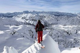 Skiing the French Alps
