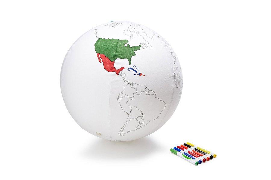 Coloring Globe
