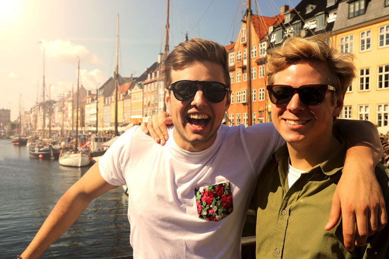 Henrik and Niklas