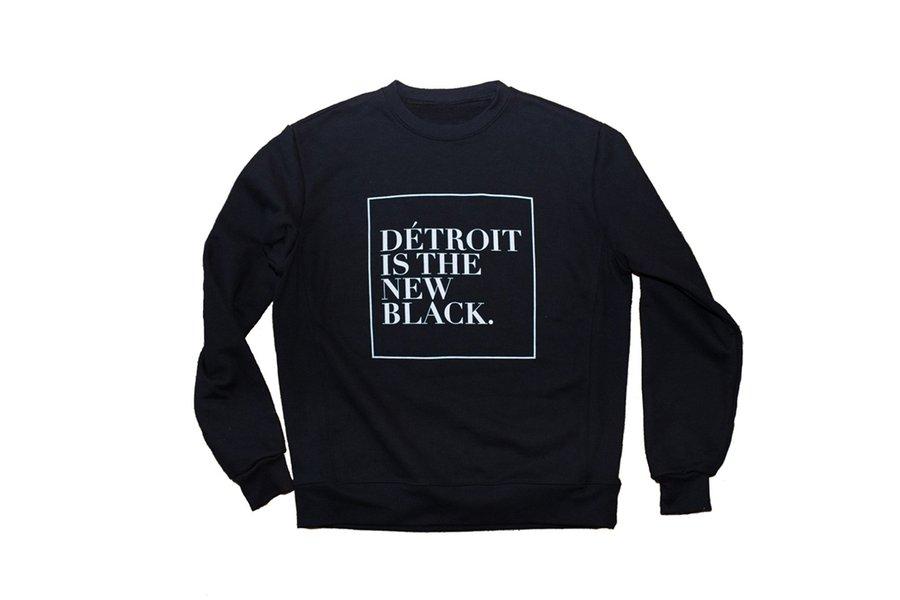 Detroit Is the New Black Sweatshirt