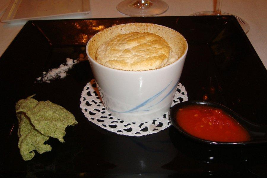 Mozzarella Souffle