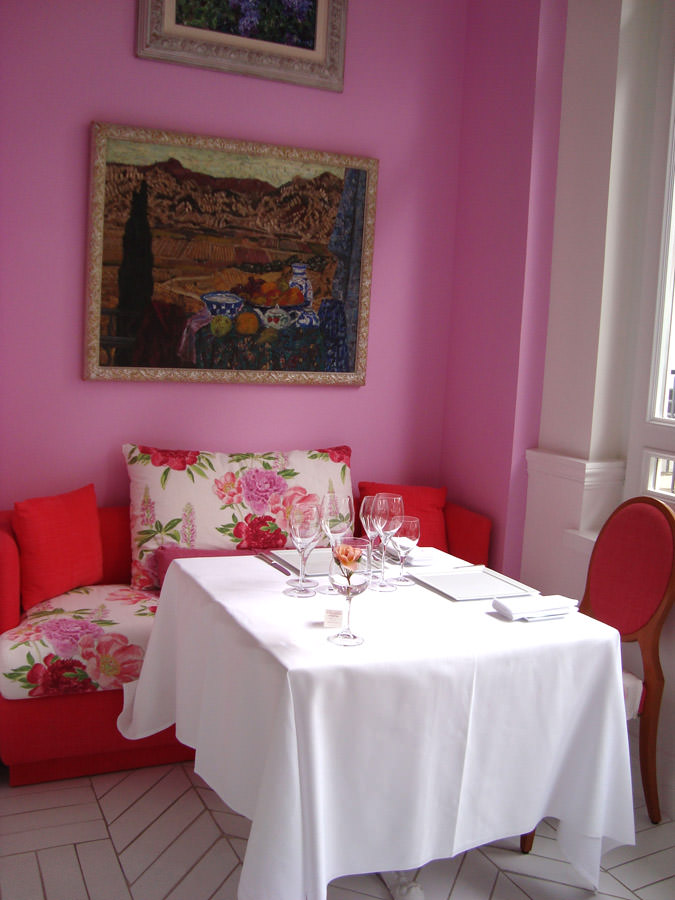 Don Alfonso dining room