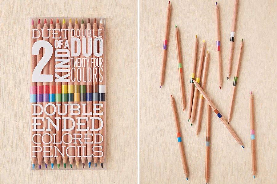 Double-Ended Color Pencil Set
