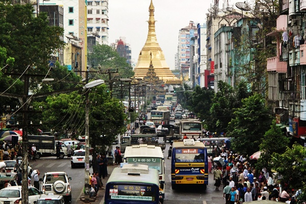 Center of Yangon