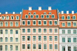 Picture-perfect Swissotel in Dresden, Germany.