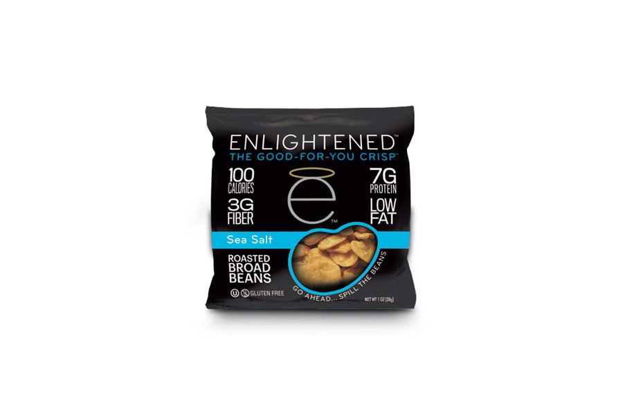 Enlightened Sea Salt Roasted Broad Beans