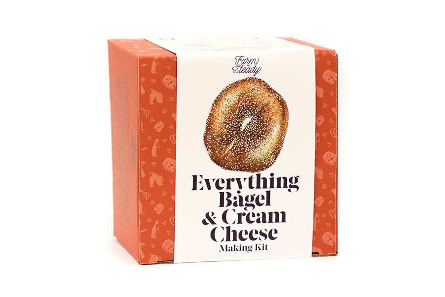 Everything Bagel and Cream Cheese