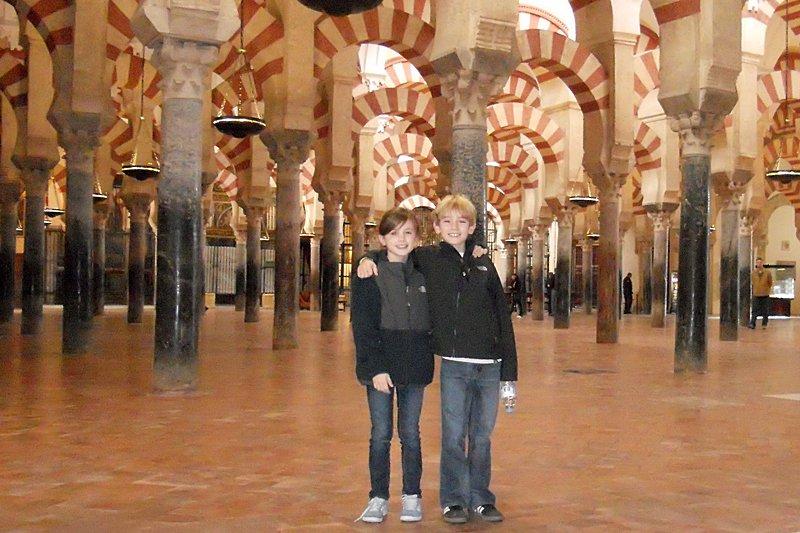 La Mezquita, the mosque of Cordoba, Spain